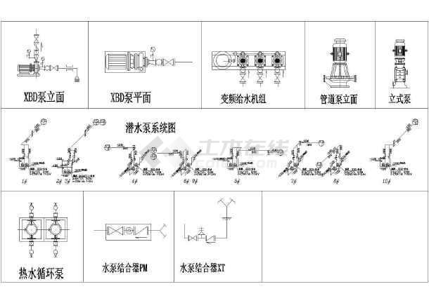 潜水泵控制图