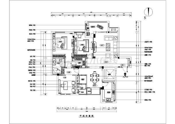 测量房图纸手绘