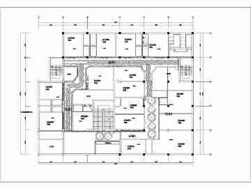 某市会所内大型ktv装修图设计图