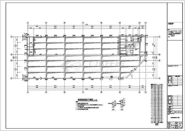 【安徽】26层框架剪力墙结构商务办公楼结构施工图
