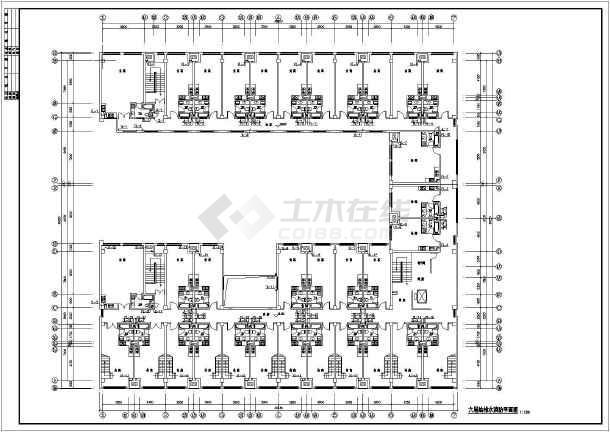 现代某6层商务公寓给排水设计全套图纸-图3