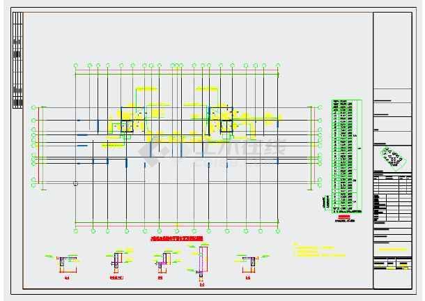 两栋33层剪力墙结构住宅楼结构施工图-图3