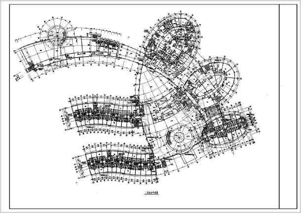【广东省】某地区某酒店全套建筑施工图