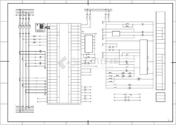 【江苏省】pc分段开关接线图设计图纸图片1