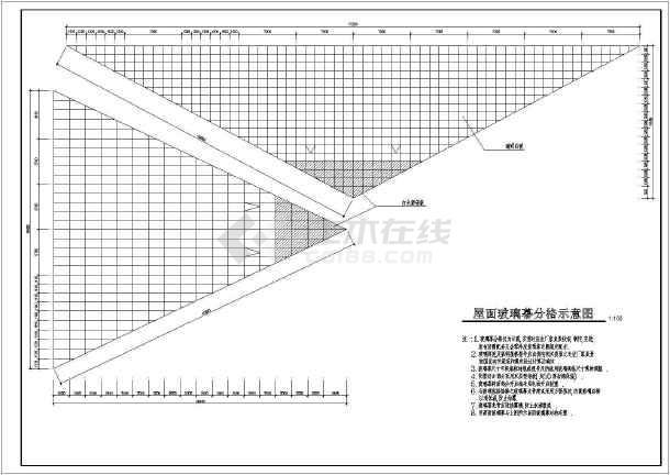 某海珍品养殖大棚cad建筑图纸(全套)
