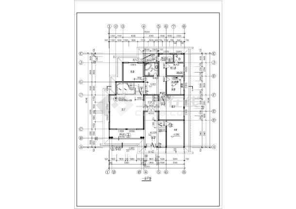 農村三間兩層房屋設計圖