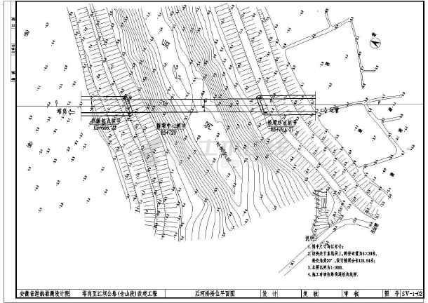 某20米宽预应力空心板桥梁设计施工图