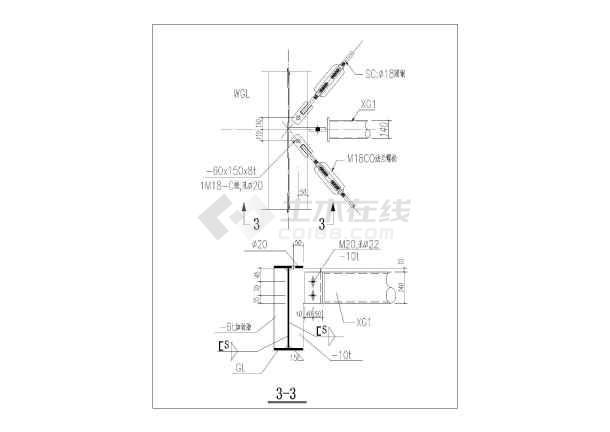 简介:本图中内容为钢结构常用节点大样及构造做法汇总,其中包括:基础