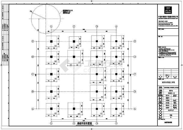 钢结构图纸 其他建筑结构设计施工图 某地钢筋混凝土框架锅炉房结构