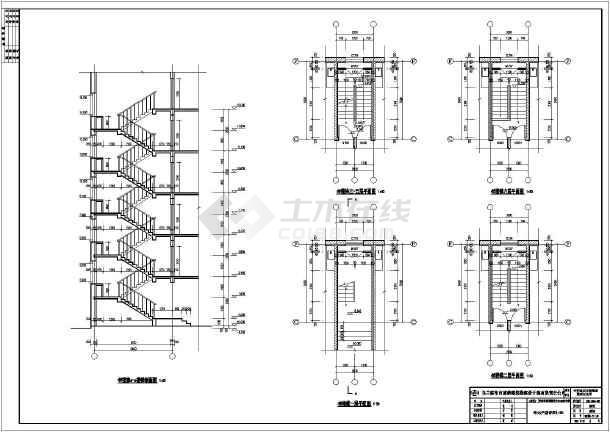 某地区六层砖混结构住宅建筑施工图