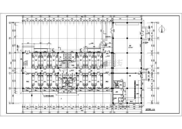 某学校三层框架结构宿舍楼建筑设计方案