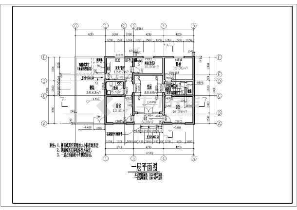 新图纸某地农村住宅楼建筑设计方案_cad图片cad打印二层直接图片