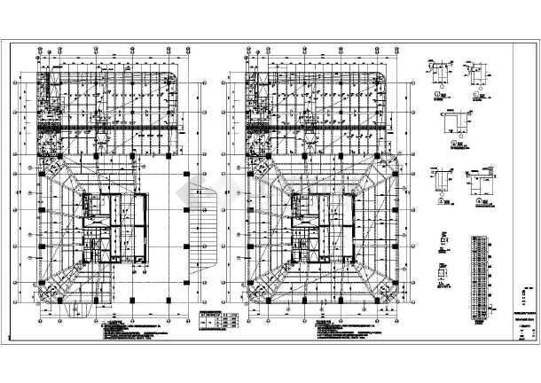 某33高层建筑设计图纸