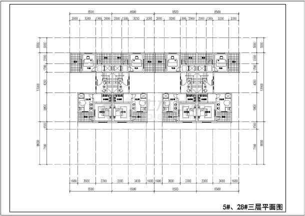 图纸 装修设计 装修方案节点详图 室内设计方案 某地别墅住宅户型图