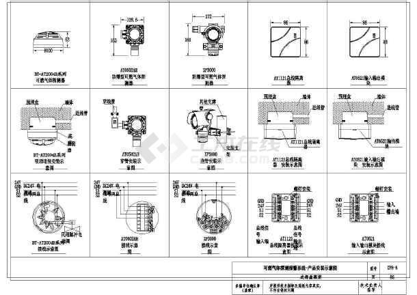 【成都】某电气工业消防电源v电气、小区内径监风管图纸火灾上怎么表示图片