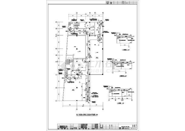 洛宁】某购物中心图纸通风施工图_cad空调下乐小型高图纸战舰图片