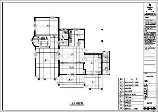 【福州】某高档别墅装修设计施工图的别墅例子拆迁图片