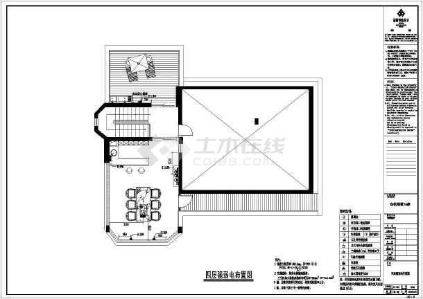 【福州】某高档别墅装修设计施工图别墅农村车位v别墅图带图片