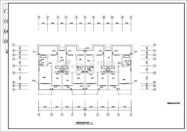 【浙江】某住宅楼建筑给排水设计图-图1