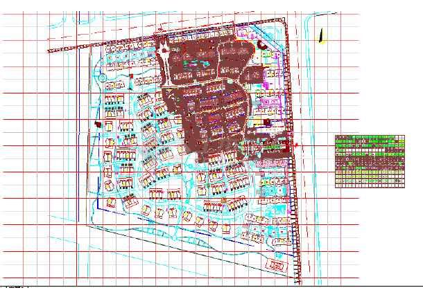小區景觀設計cad平面圖  本圖紙為某歐式高檔小區全套景觀設計平面圖