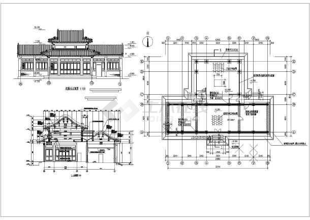 手绘图纸设计图立体图制砖机房子图片