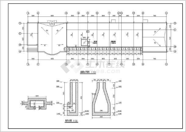 图纸目录:建筑设计说明,门窗明细表,装修一览表,一层平面图,节点