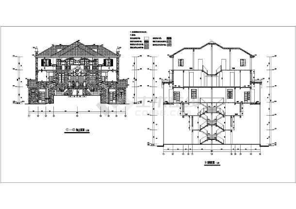 70米农村自建房别墅建筑设计图