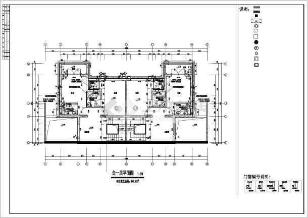 多层长22.20米 宽16.70米农村自建房别墅建筑设计图