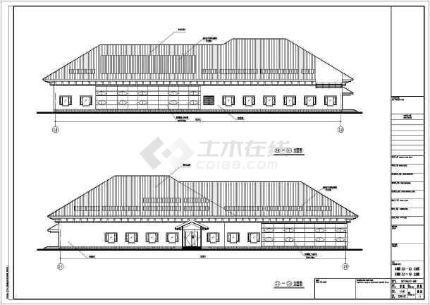 六层新中式五星级v坐标坐标建筑施工图_cad图图纸汽车酒店图片