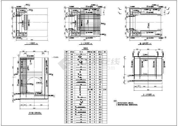 图纸 水利工程设计图 闸门启闭机 水闸相关 技施阶段隧洞进口拦污栅结