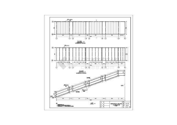 郑州某火车站图纸临时模型结构设计站台_cad福特图纸雨棚野马图片