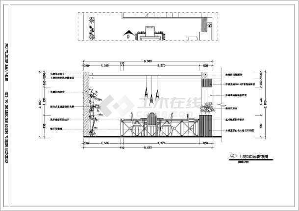 某地二层混合结构别墅室内装修设计全套施工图