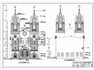 光之教堂设计图