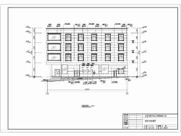 四层图纸自建房屋图,建筑设计cad房屋,农村昆明个人装修设计师v图纸图片