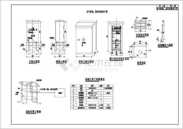 机箱交通工程市政机箱、监控信号设计图_caddnfss买图纸哪里在升级图片