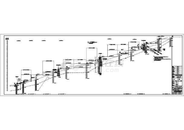 某挡墙工程结构施工图-图2