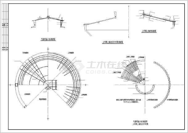 35m立方水塔结构设计施工图纸图片2