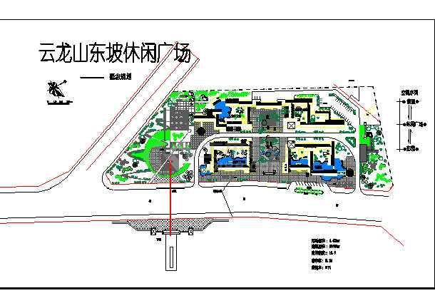 休闲绿地环境设计平面图
