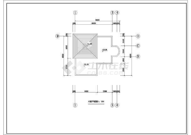 某地新型三层房屋农村建筑设计图纸图纸Cse什么图片