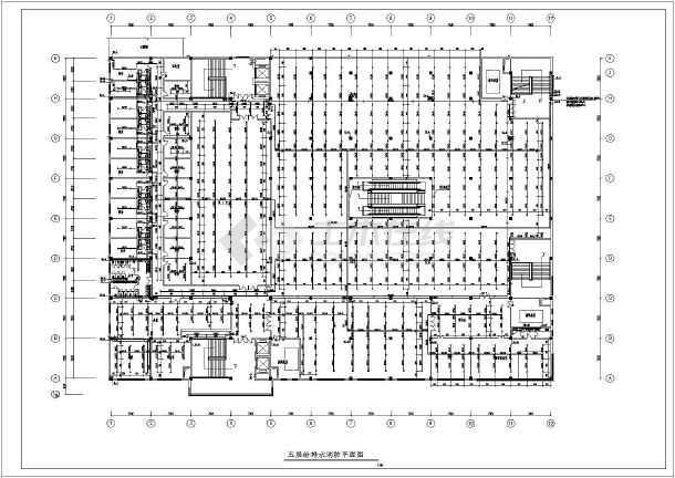 某地多层商场建筑给排水设计施工图