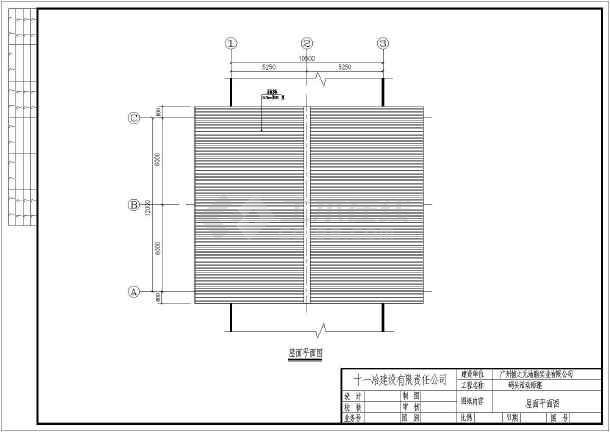 钢结构设计施工图 码头结构设计 结构设计施工图 钢结构设计施工图集
