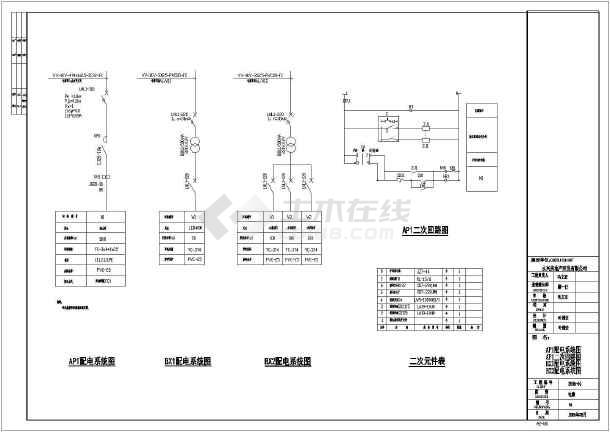 景观电气设计图纸,本工程电气设计内容包括:动力,照明系统电力设计.