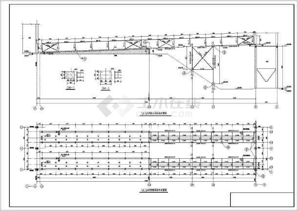 某栈桥钱包机皮带结构v栈桥格子_cad煤矿十字绣图纸图纸图纸图片