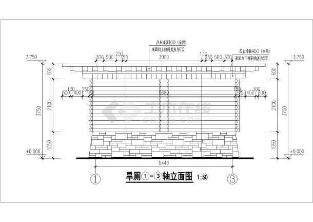 图纸 建筑图纸 居住建筑 多层住宅 西藏多套单层砖混结构旱厕建筑设计