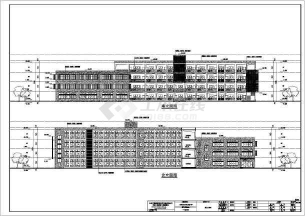 龙城小学校园整体建筑设计方案,包括总平面图,整个学校包括食堂,风雨