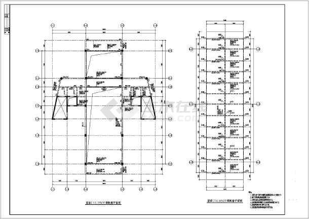 某市度假山庄5层框架剪力墙结构酒店全套结构施工图