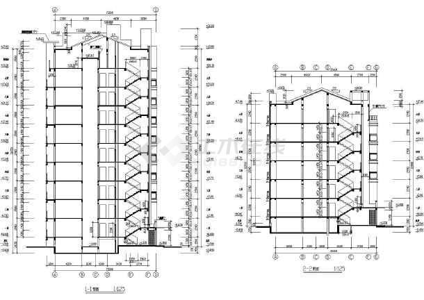 包含:施工说明,平面图,立面图,剖面图,详图,大样,飘窗立面 等,可供
