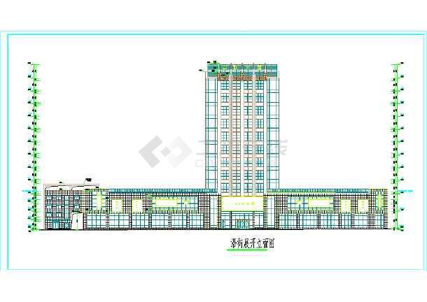电影院建筑方案设计平面图