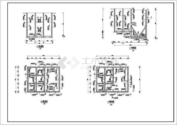 自来水厂反应沉淀池工艺设计施工图