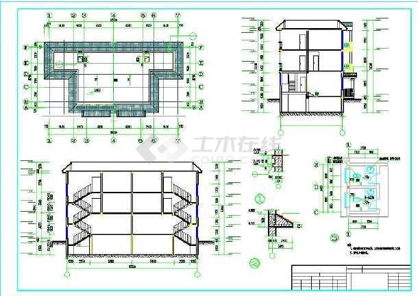 74米农村自建房建筑设计图